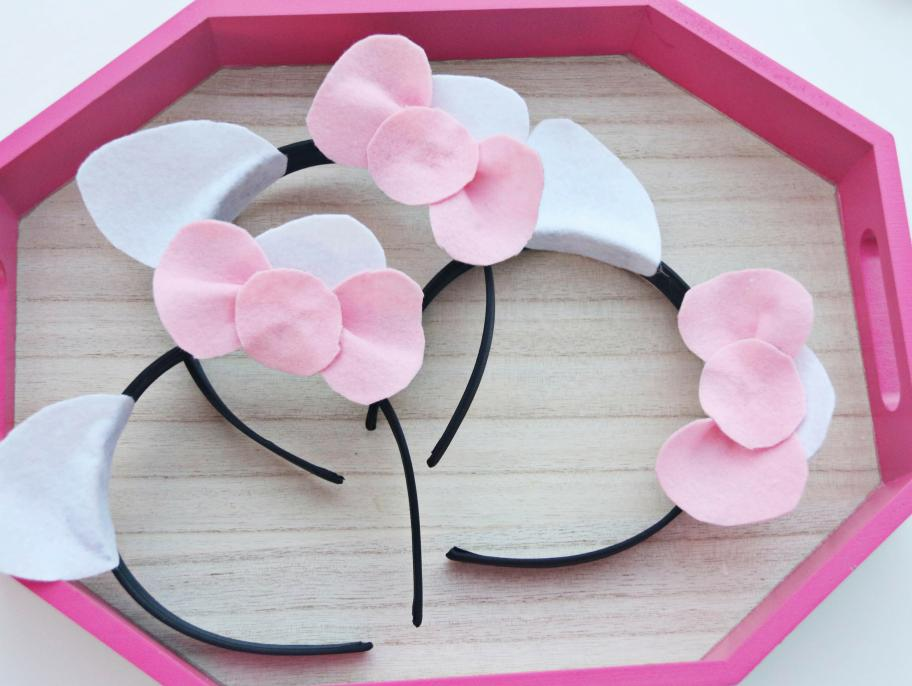 DIY Hello Kitty Headbands