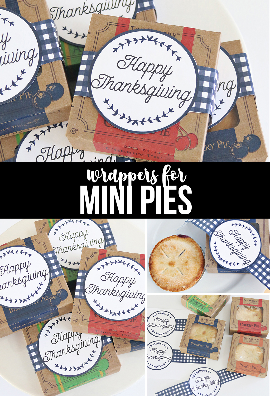 Wrappers for Mini Pies