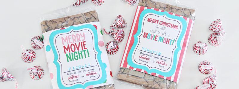 Redbox Movie Christmas Gift