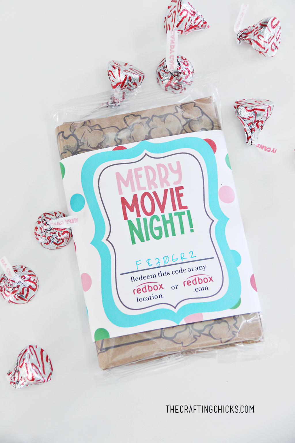Merry Movie Night Redbox gift idea
