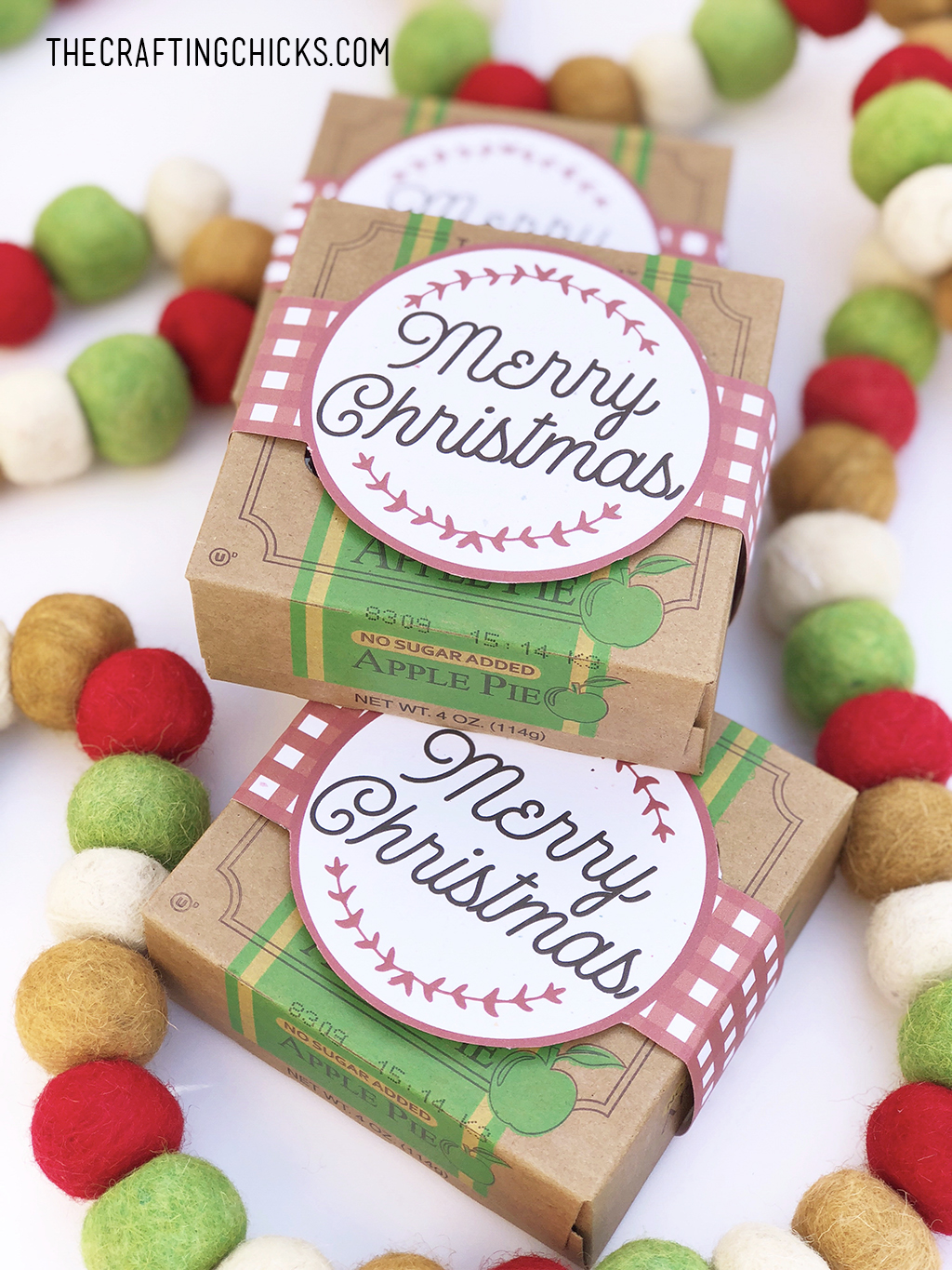 Christmas Pies.Christmas Mini Pies With Tags The Crafting Chicks