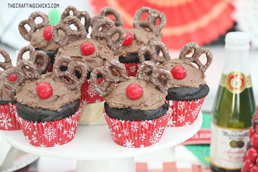 Reindeer Cupcakes Cake Mix