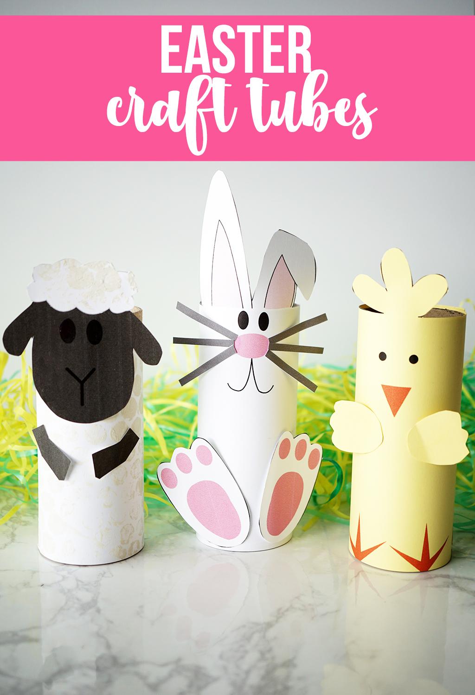 Easter Craft Tubes