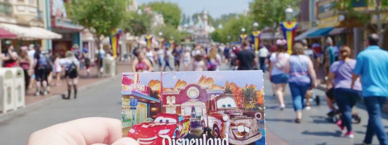 Disneyland Ticket options
