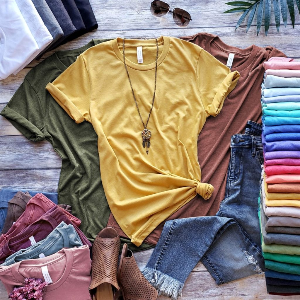 Long Length Soft and Comfy tees in multiple colors. Fall wardrobe must haves