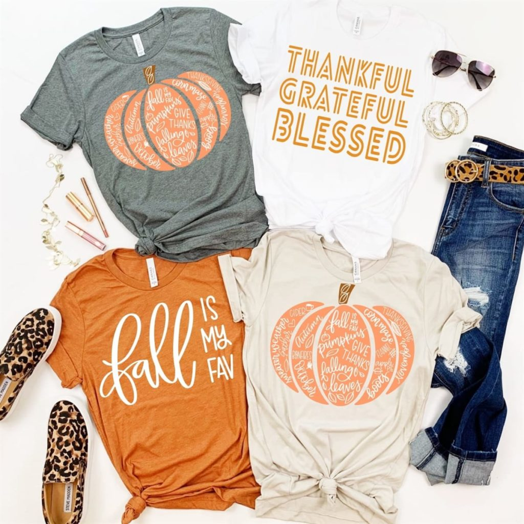 Fall Season Tee Shirts for Fall Wardrobe Must Haves