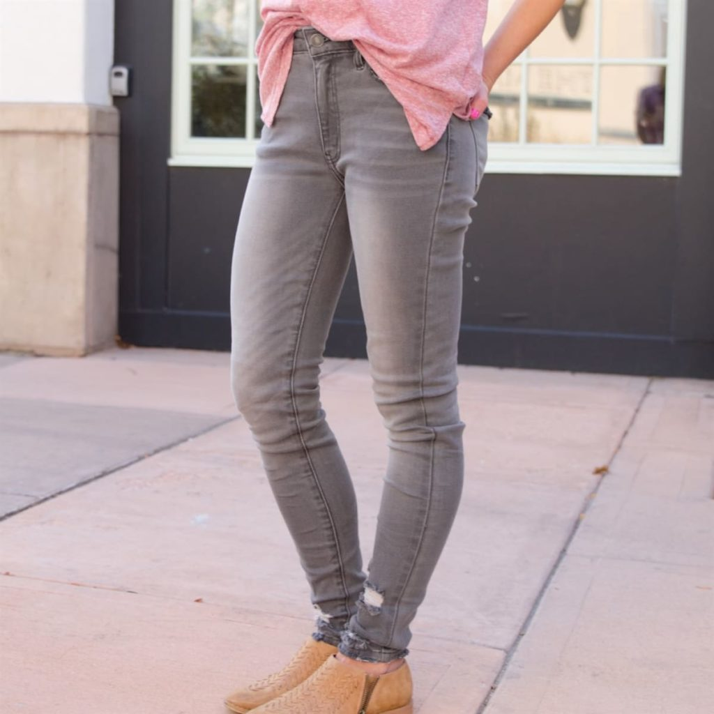 Grey KanCan Jeans perfect for fall