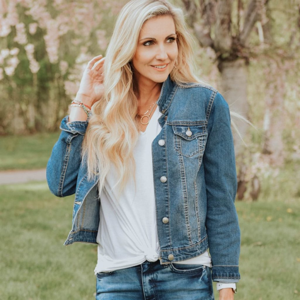 Fall Wardrobe must have denim jacket