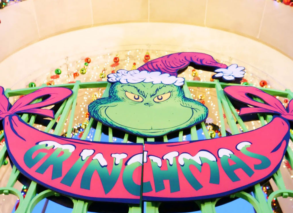 Grinchmas during the Holidays at Universal Studios Hollywood