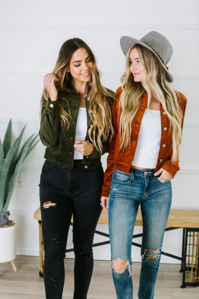 Fall Wardrobe Must Have Corduroy Jacket