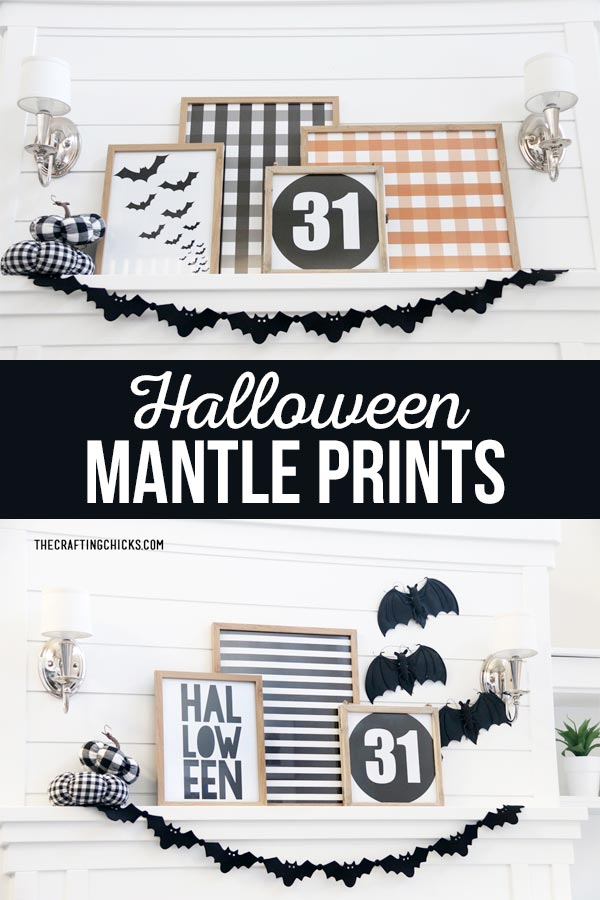 Halloween Mantle Prints