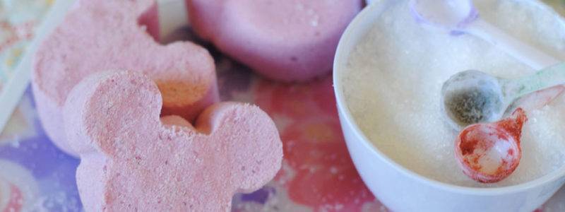 Mickey Mouse Bath Bombs