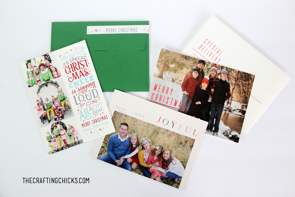 Christmas cards are a great way to keep in touch with family and friends.