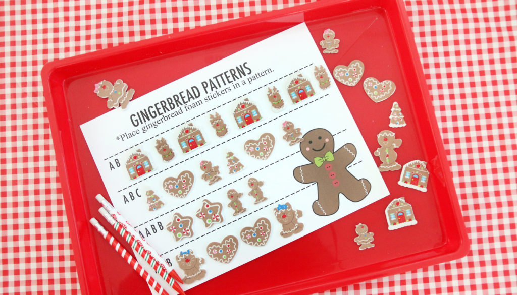 Gingerbread Pattern Activity