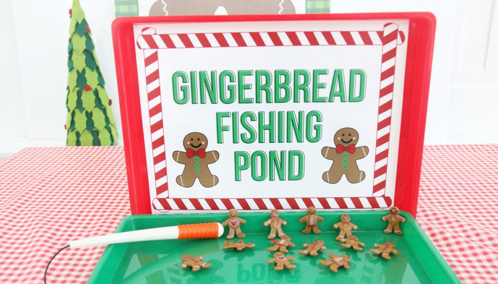 Gingerbread Man Fishing Game