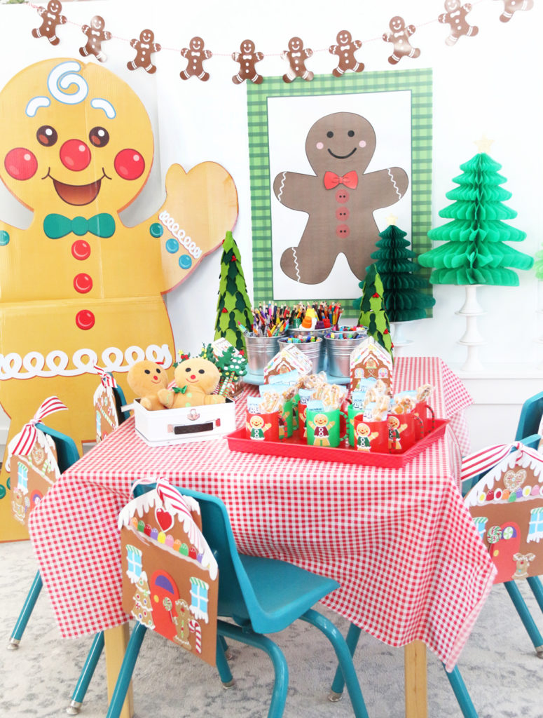 Gingerbread Man Classroom Party