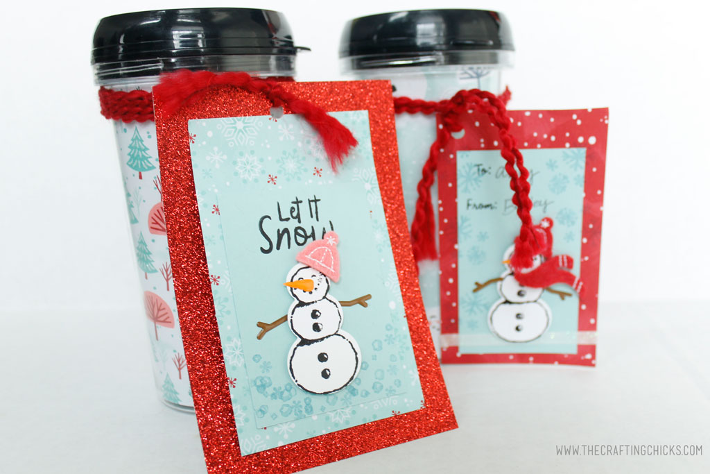 Give your gifts some extra flair with an adorable Stamped Snowman Gift Tag. The perfect way to add creativity to your gifts.