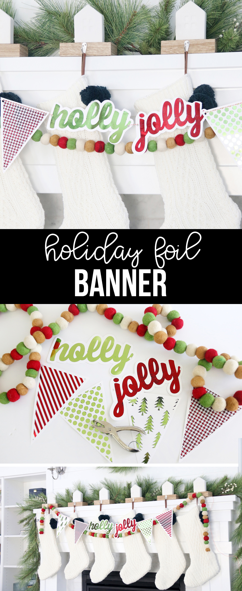 Holiday Foil Banner
