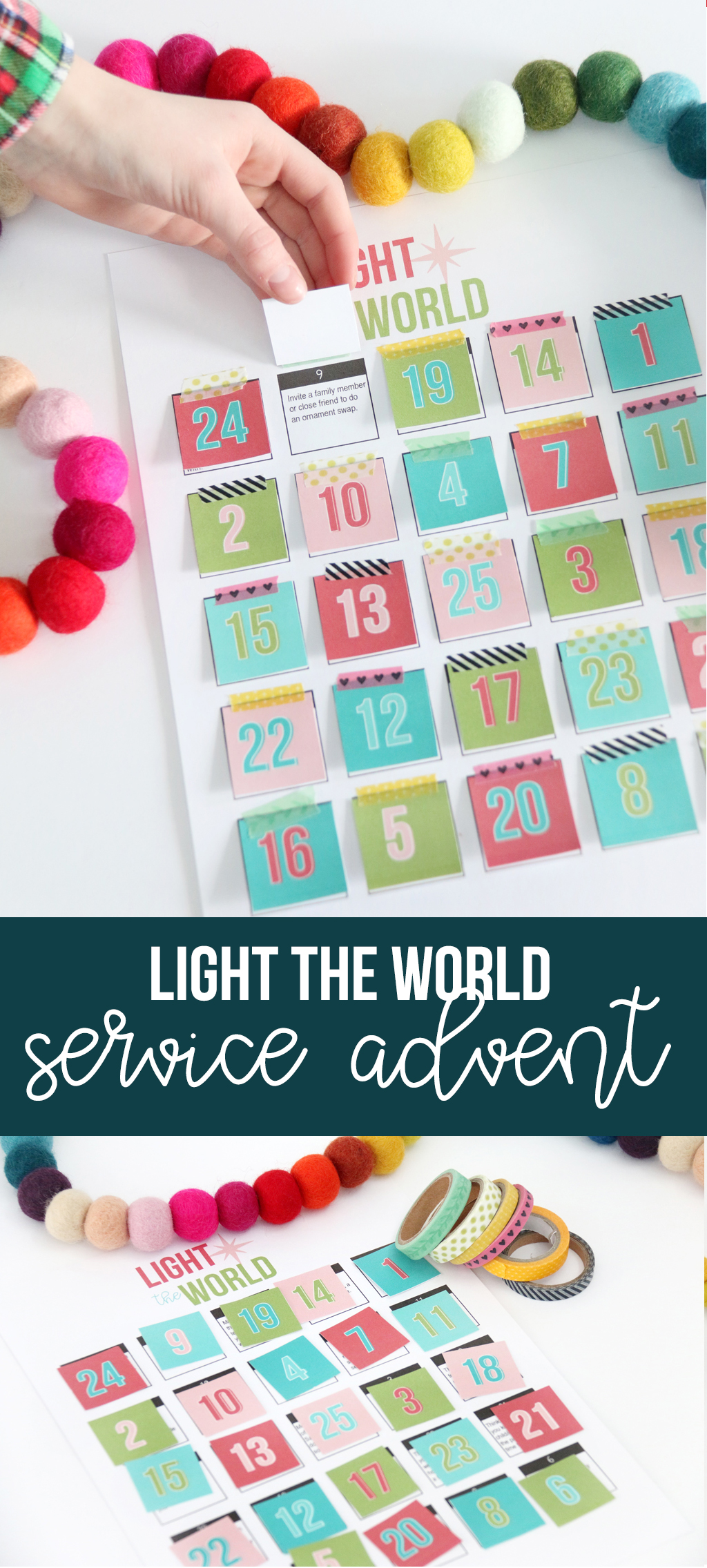 Light the World Service Advent