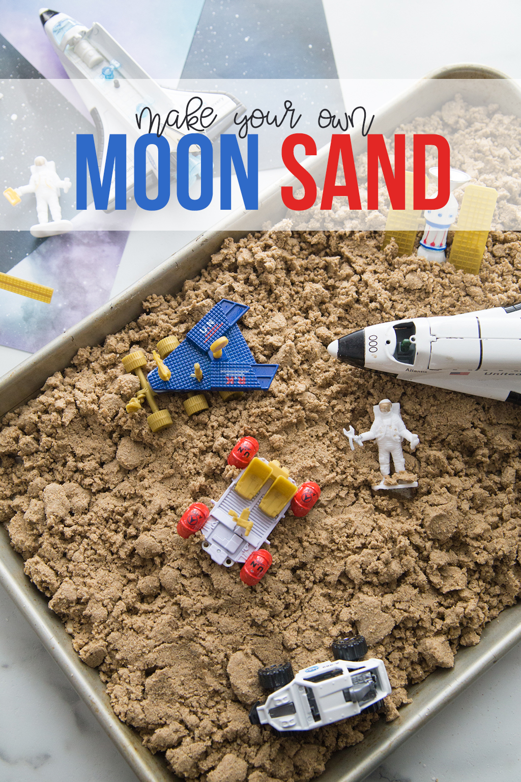 Make Your Own Moon Sand