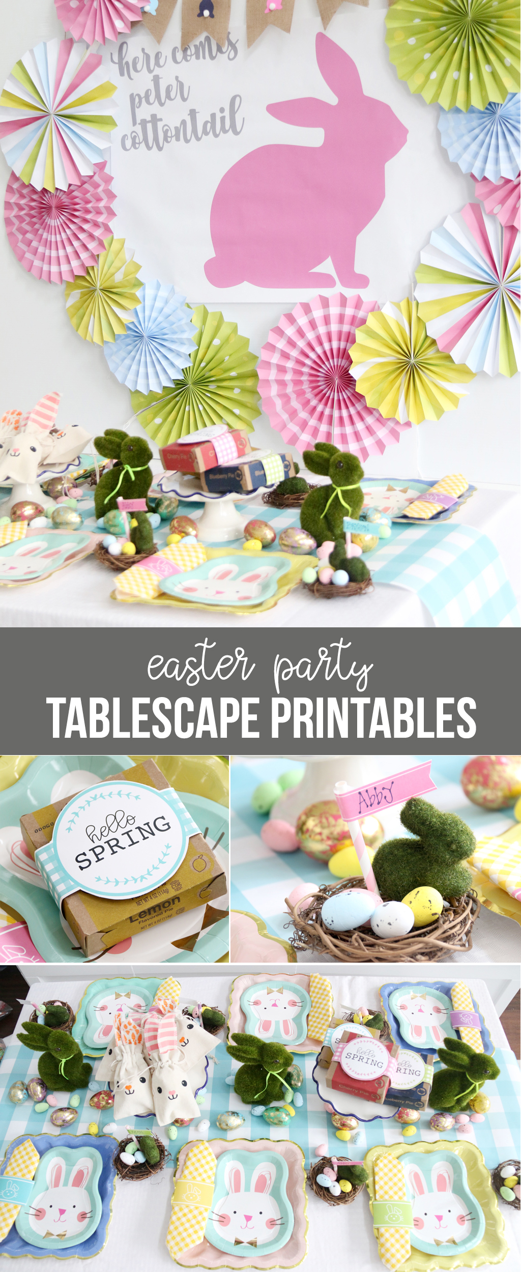 Easter Party for Kids with Printables