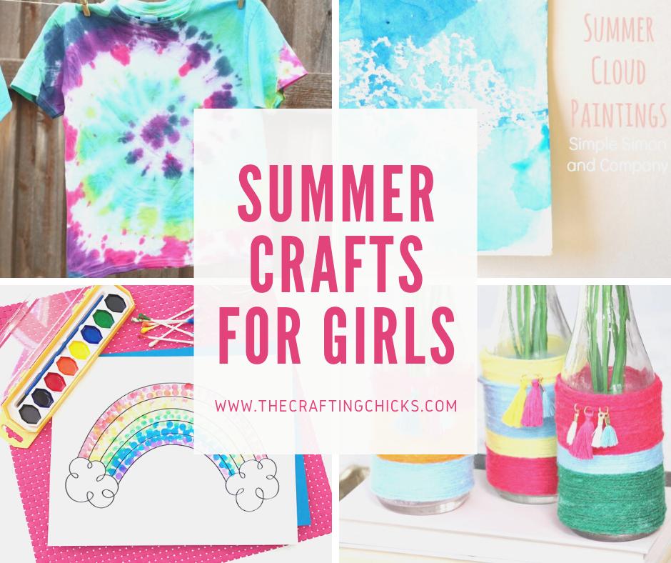 summer crafts for girls
