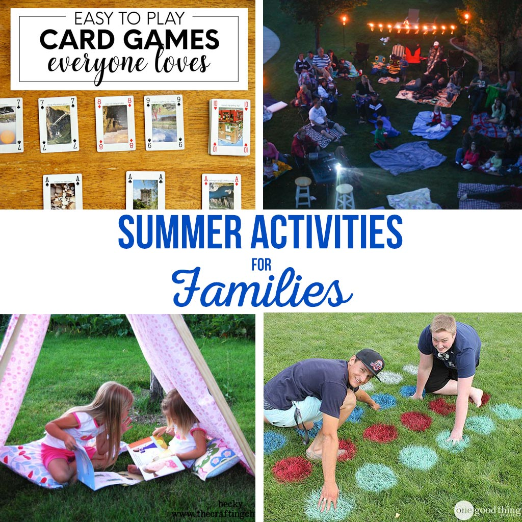 summer activities for families