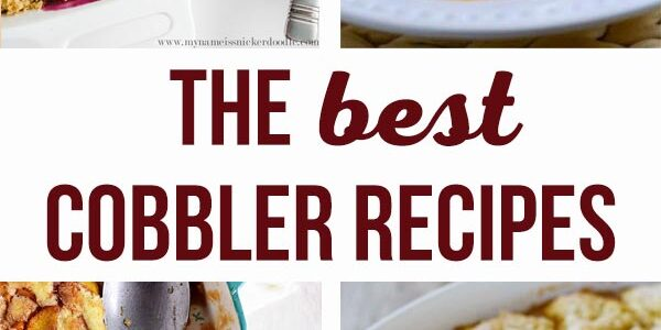 best cobbler recipes