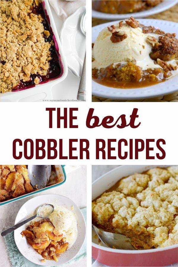 best cobbler recipes