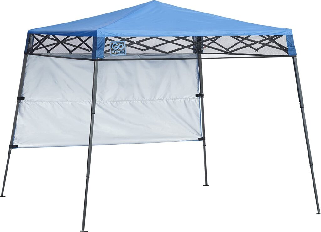 Blue Outdoor Canopy or shade tent