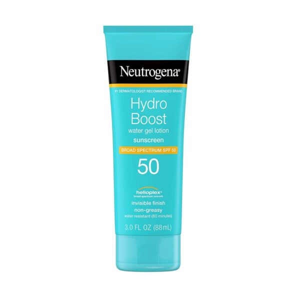 Neutrogena Hydro Boost Sunscreen is a Must have for Sports Moms