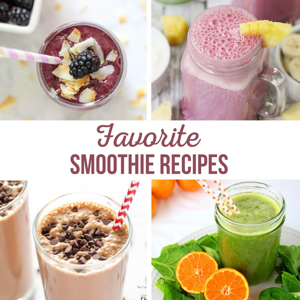 favorite smoothie recipes
