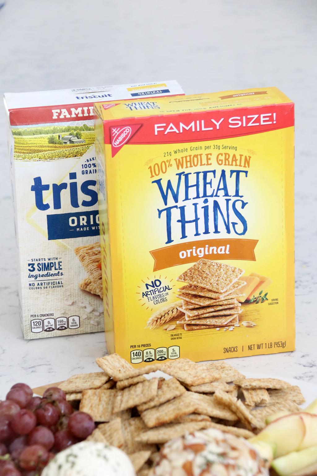 Family Sized Wheat Thin Crackers