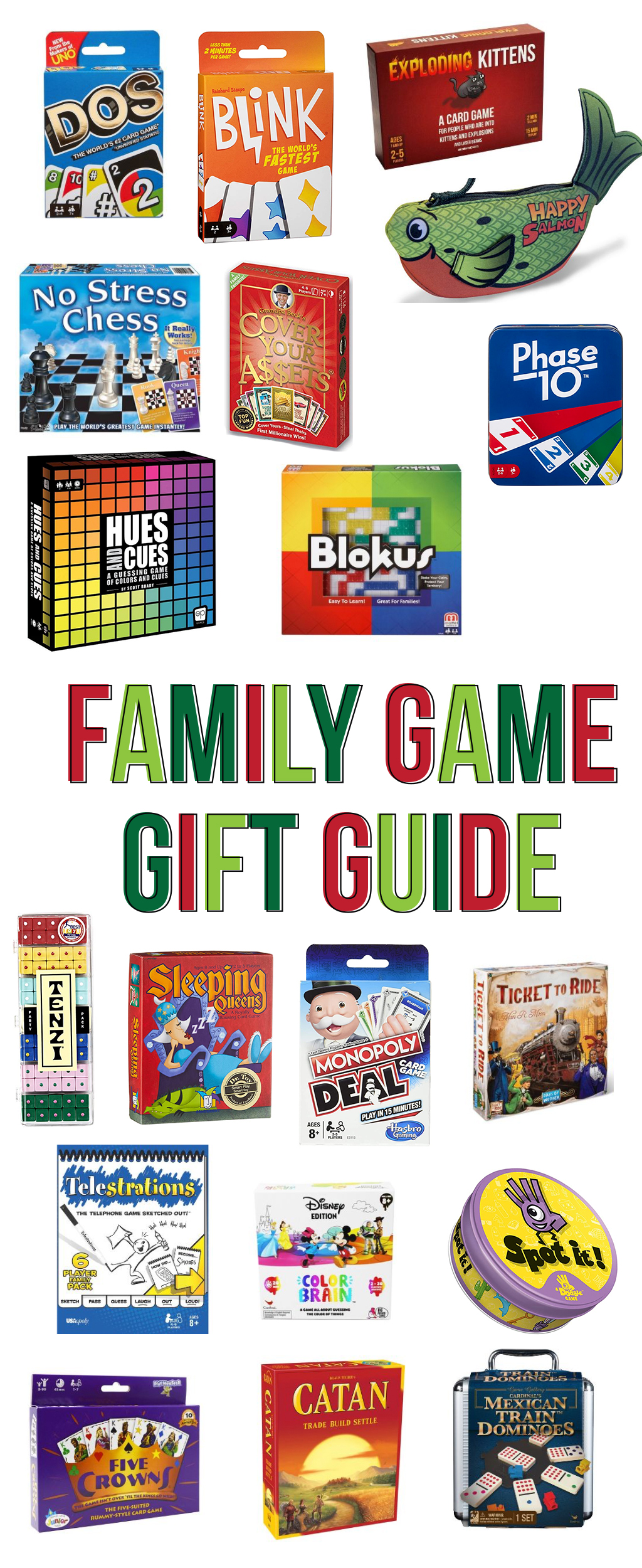 family game gift guide