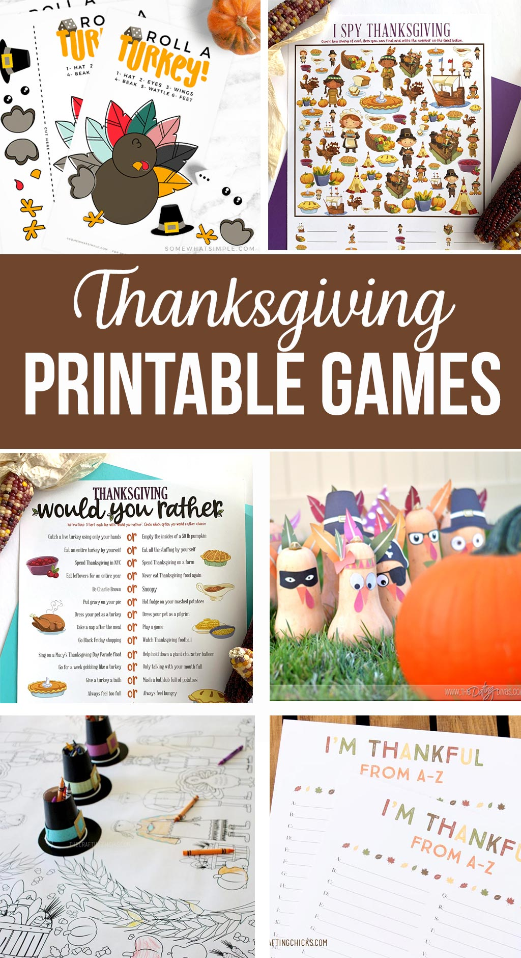 thanksgiving printable game