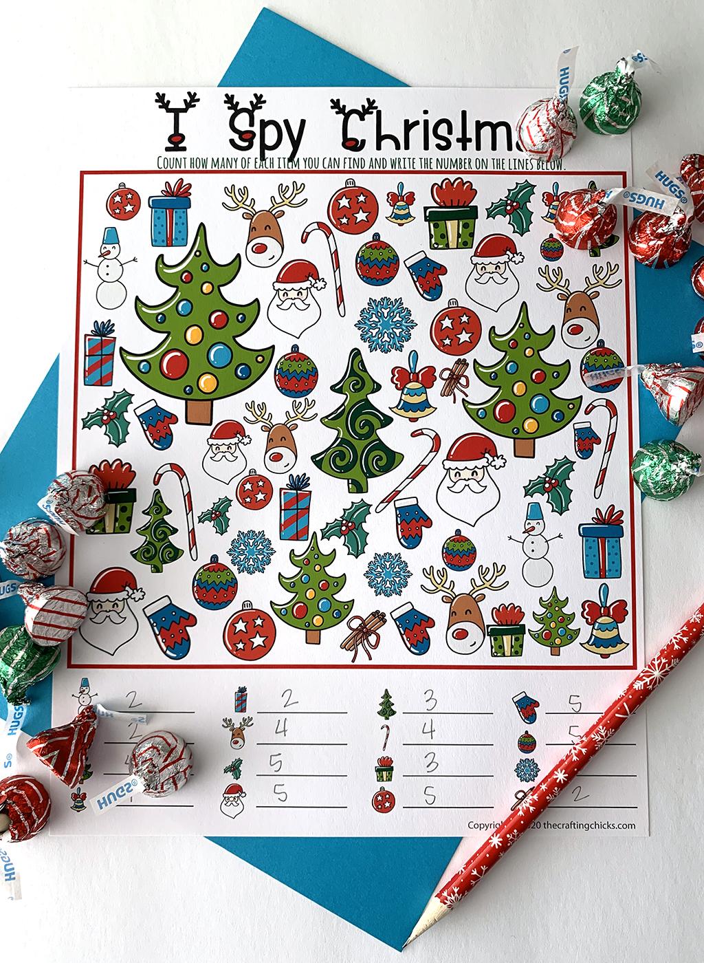 Christmas I-Spy Game
