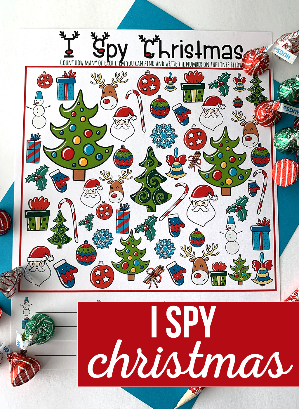 Christmas I-Spy Printable Game