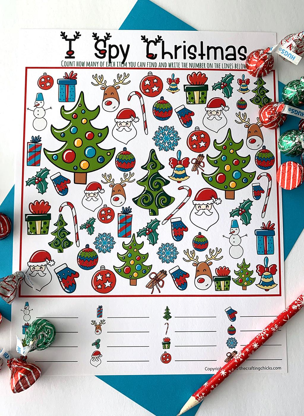 Christmas I-Spy