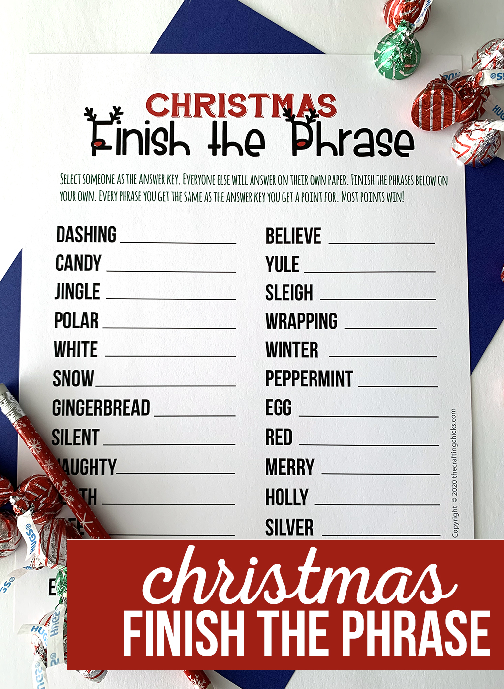 Christmas Finish the Phrase