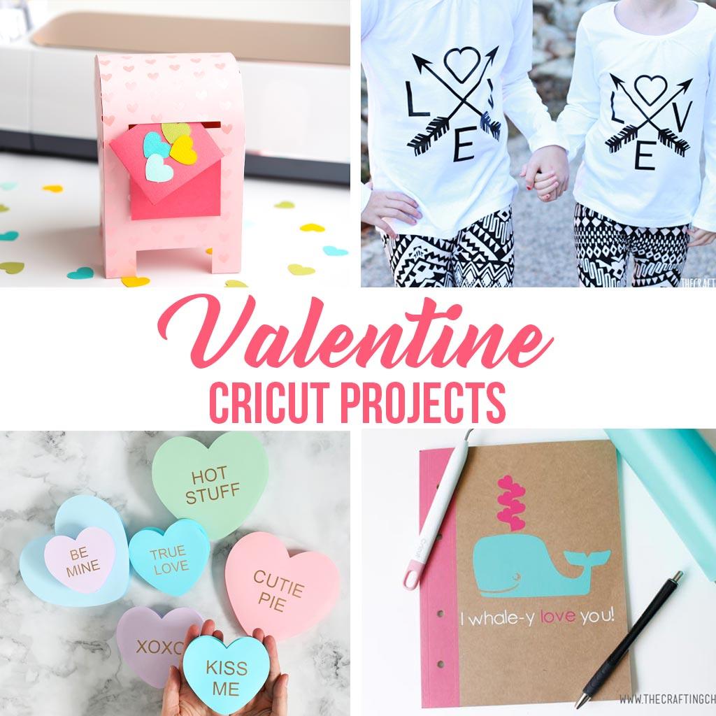 valentine cricut projects