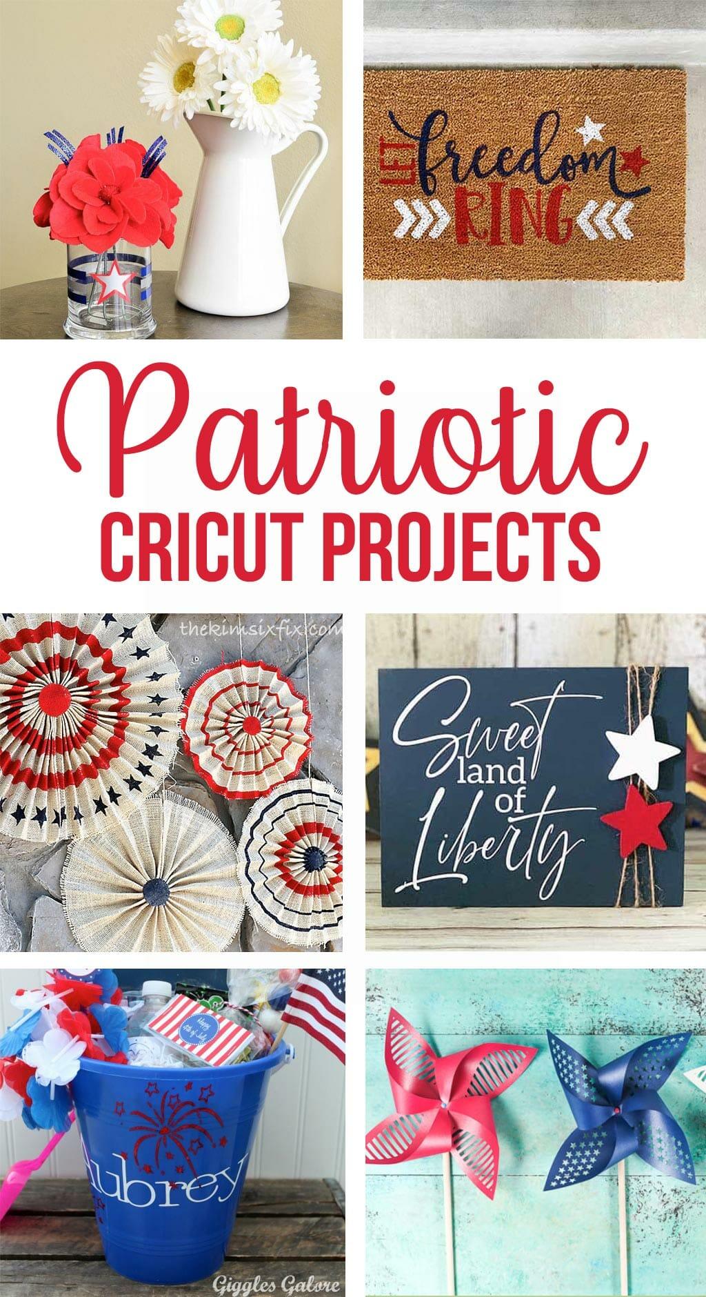 patriotic cricut projects