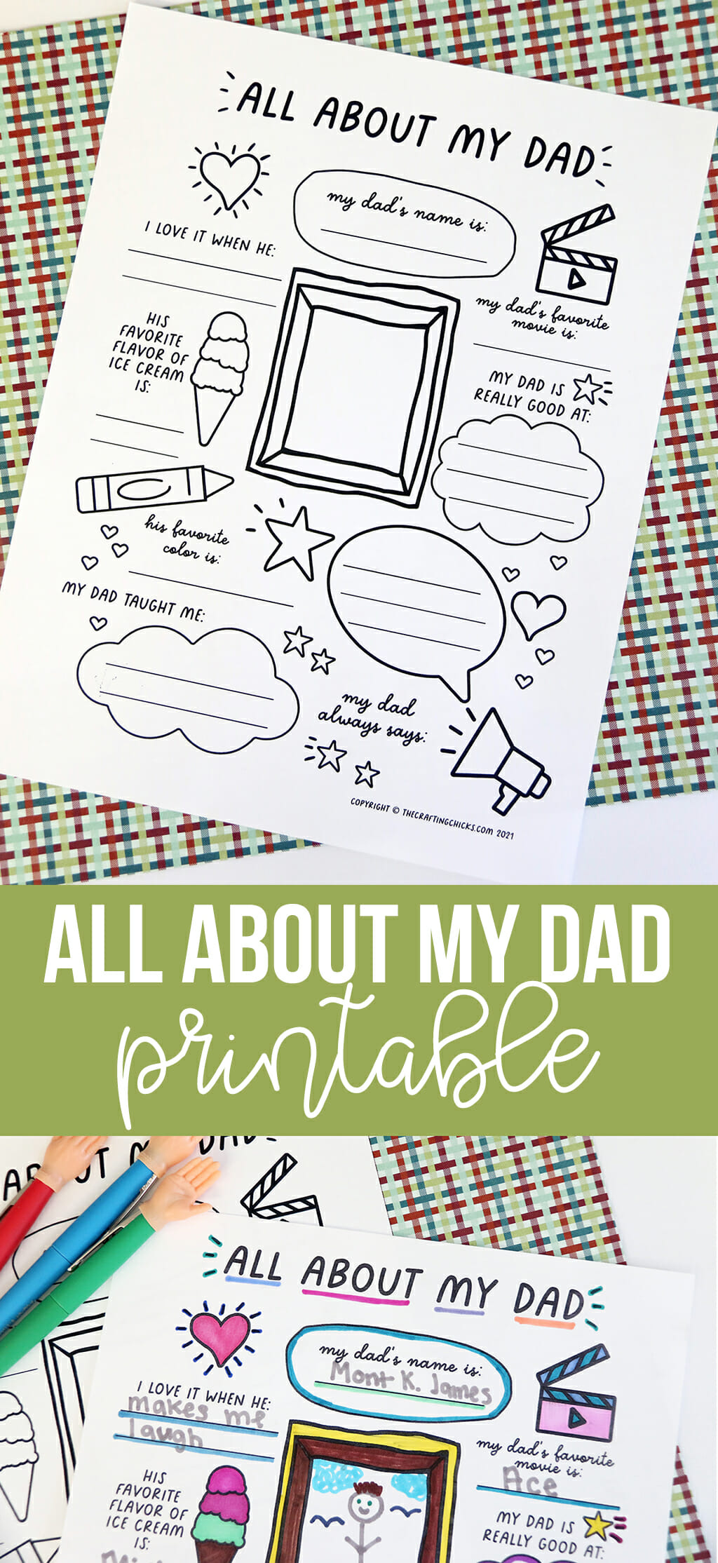 All About My Dad Pinable Image