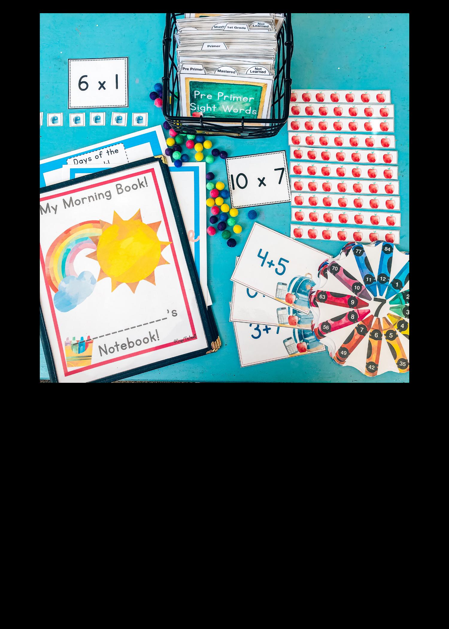 Back to School Basics Bundle Info